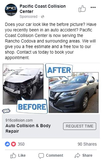 Facebook and Instagram Marketing for Collision Centers